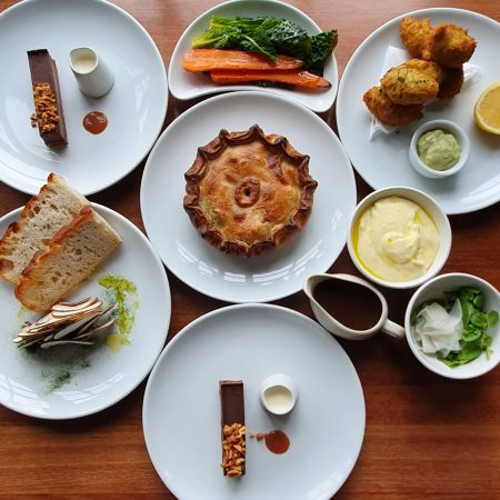 Spring Pie Box for Two